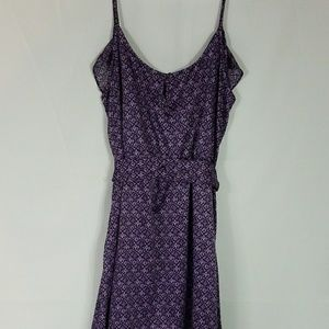 GAP Purple Sleeveless Dress Size L New  S99